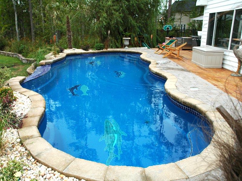 West Coast Fiberglass Pools | Viking Pools Mosaic Tiles from ...